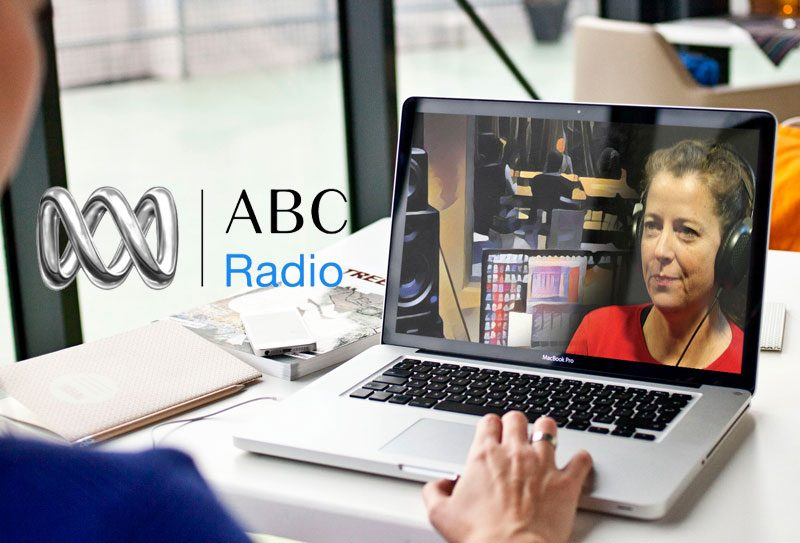 ABC Radio Interview Holly Bridges and Alice Walker