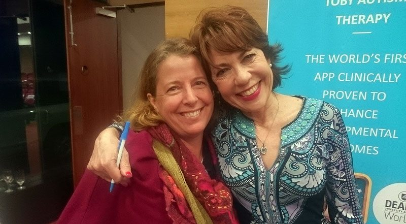 Holly and Kathy Lette